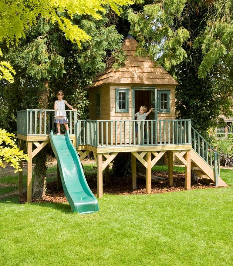 mediniai nameliai vaikams